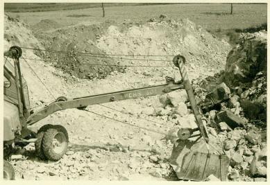 Letzter Steinbruch-Betrieb bei der Familie Schwind
