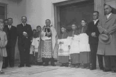 Bilder von der Einweihung 1958