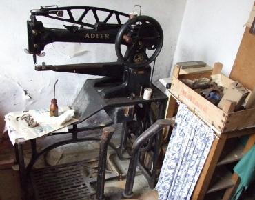 Schusterwerkstatt von Johann Zweier