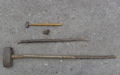 Werkzeug aus den Steinbrüchen