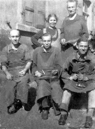 Lehrzeit in Bamberg in der Zeit 1943 - 1947