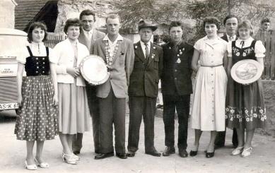 Schützenkönig Adi Baier 1958