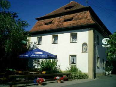 Schlossgaststätte Brehm mit Biergarten