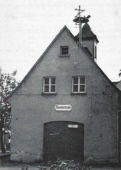 Feuerwehrgerätehalle von 1949
