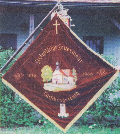 Vereinsfahne von 1966