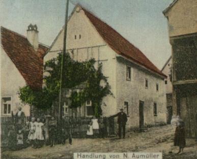 Vorbesitzer N. Aumüller um 1910