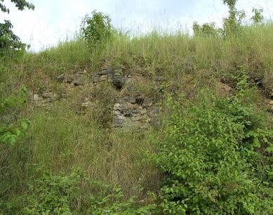 Reste der Steinbrüche