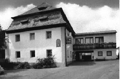 Schloßgaststätte um 1990